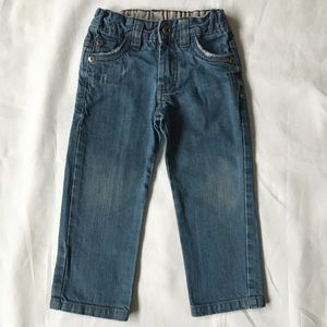 Zara kids jeans 2T 3T boys worn look pants EUC